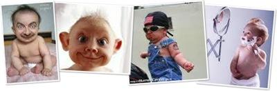 Exibir Bebes diferentes