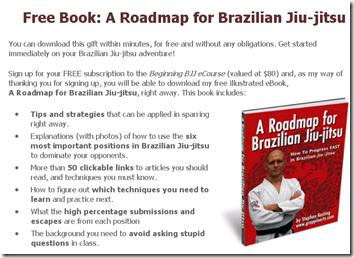 A Roadmap for Brazilian Jiu-Jitsu