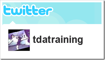 Follow TDA Training on Twitter