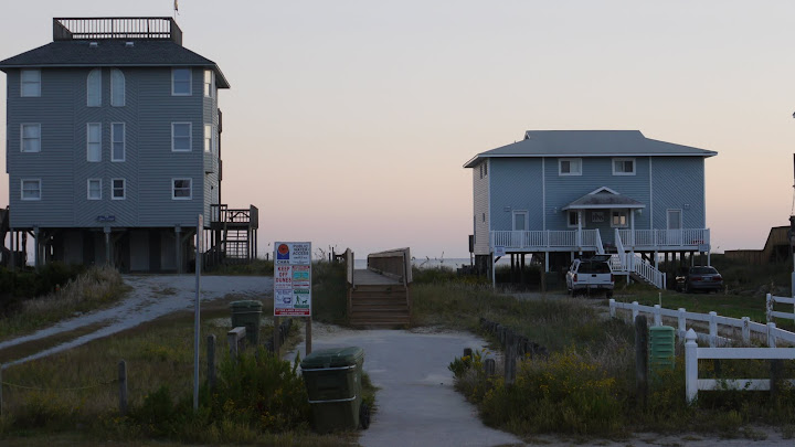 Ocean Front Homes - Ocean Oaks in Emerald Isle North Carolina an oceanside subdivision