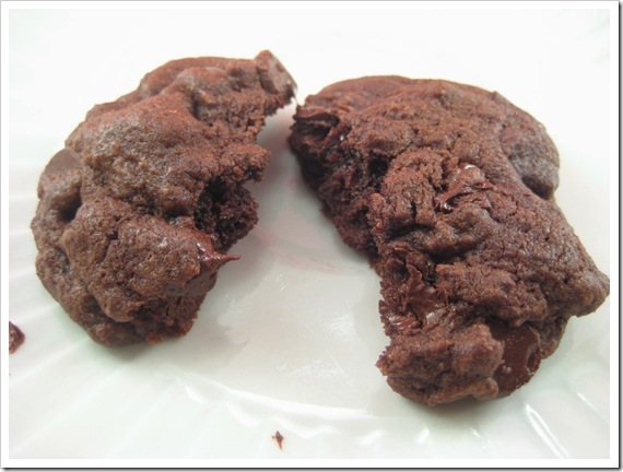 Double Chocolate chip cookie2