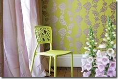 Wild Flora Collection velvet jacquard pattern