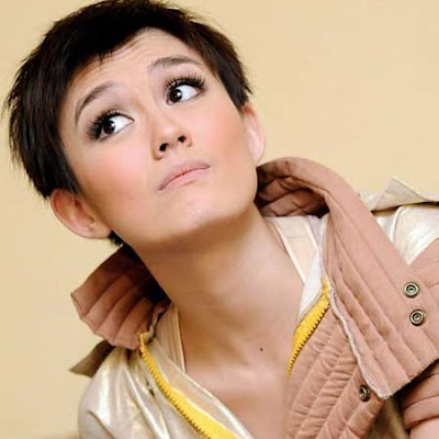 Indonesian Artist Short Hair Styles