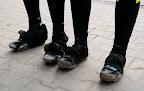 Niektorym sie juz troche zuzyly ochraniacze na buty po tej zimie