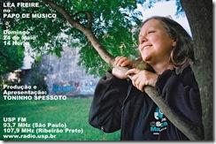 LÉA FREIRE - Papo de Músico (USP FM) - 24-5-2009