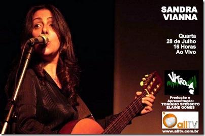 SANDRA VIANNA - Vitrola (allTV) - 28-7-2010