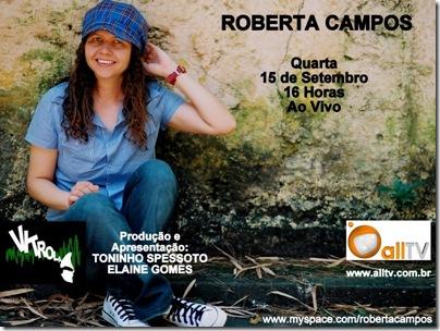 ROBERTA CAMPOS - Vitrola - 15-9-2010