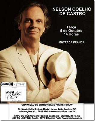 NELSON COELHO DE CASTRO - Papo de Músico - 5-10-2010