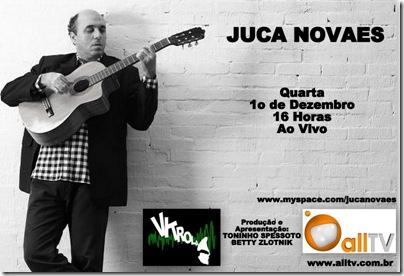 JUCA NOVAES - Vitrola - 1-12-2010