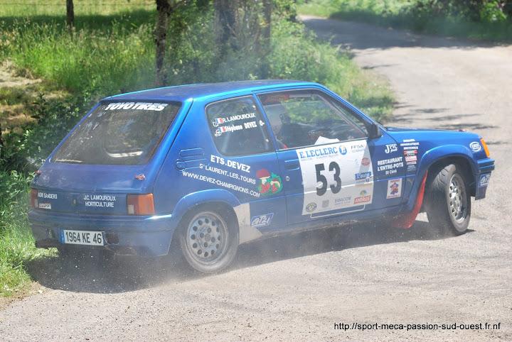 Stéphane DEVEZ / Rémi LAMOUROUX - 205 Rallye FA5 Rallye%20des%203%20Ch%C3%A2teaux%202010%20211