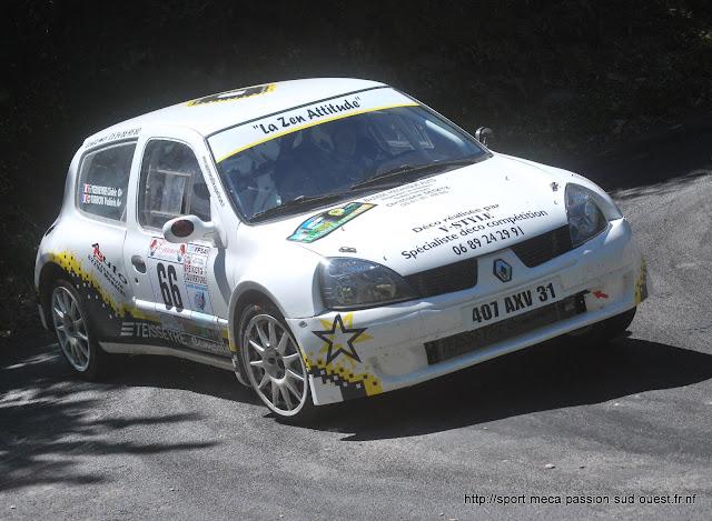 Cédric TEISSEYRE / Valérie TIRBOIS - Clio RS F214 Rallye%20de%20Bagnols%20les%20Bains%202010%20085