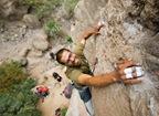 Escalando en Arico09