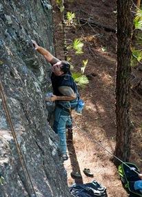 Escalar en tamadaba, rock climb, canarias20