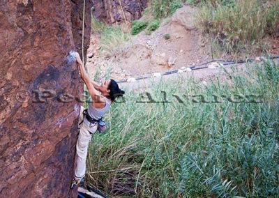Escalar en fataga, rock climb, canarias07