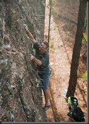 Escalar en tamadaba, rock climb, canarias01