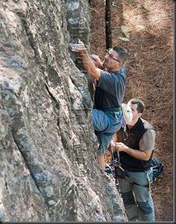 Escalar en tamadaba, rock climb, canarias02