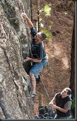 Escalar en tamadaba, rock climb, canarias03