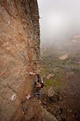 Escalar en Ayacata, candelilla, rock climb, canarias10