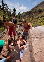 Encuentro de bloque de Mogan, boulder Mogan, Gran Canaria Boulder 007