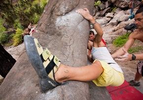 Encuentro de bloque de Mogan, boulder Mogan, Gran Canaria Boulder 023