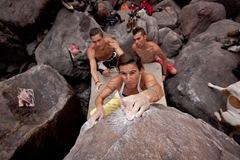 Encuentro de bloque de Mogan, boulder Mogan, Gran Canaria Boulder 034