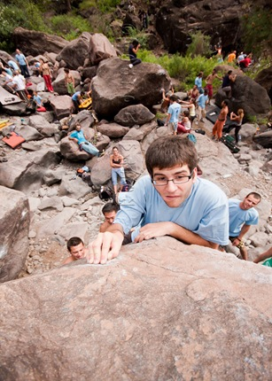 Encuentro de bloque de Mogan, boulder Mogan, Gran Canaria Boulder 074