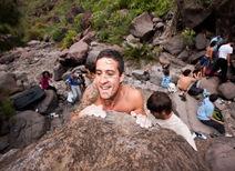 Encuentro de bloque de Mogan, boulder Mogan, Gran Canaria Boulder 076