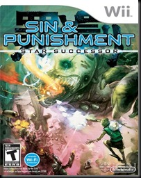Sin & Punishment: Star Successor cover art