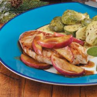 Turkey with Apple Slices