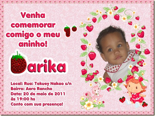Convite Darika