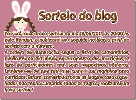 sorteio blog