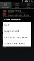 Screenshot of A1 SD Bench