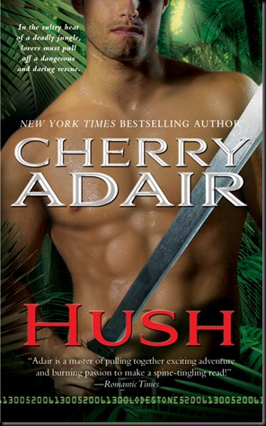 Hush - Cherry Adair - OCTOBER 2010 REVEAL - Cover may not be final
