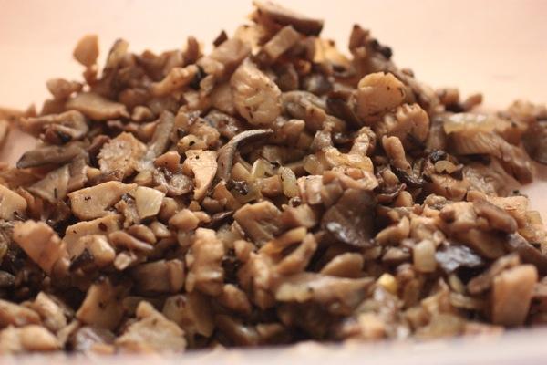 начинка - жареные грибы