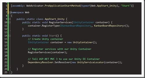 unity dependency resolving in asp.net mvc
