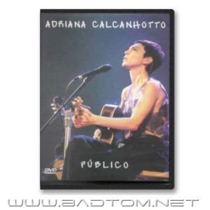 DVD Adriana Calcanhotto - Público