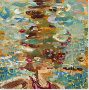 lavender swimmer ii