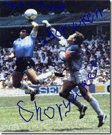 Maradona Shoryuken