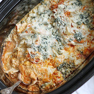 Slow-Cooker Buffalo Chicken Dip