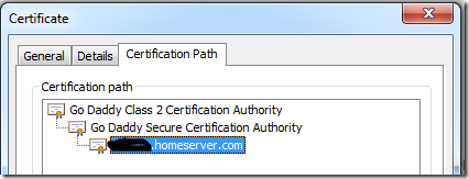 Certificate Chain