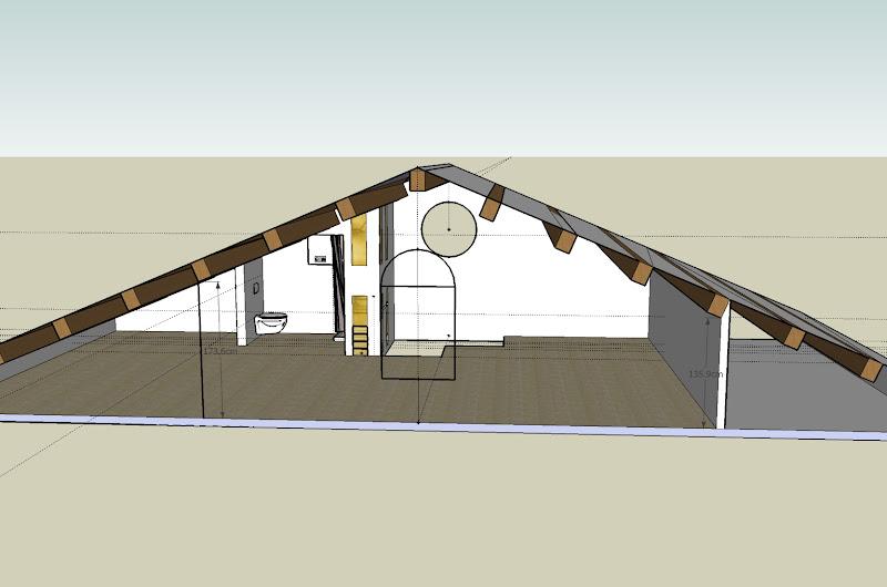 Forum tutta mansarda o soffitta - Camera da letto in mansarda bassa ...