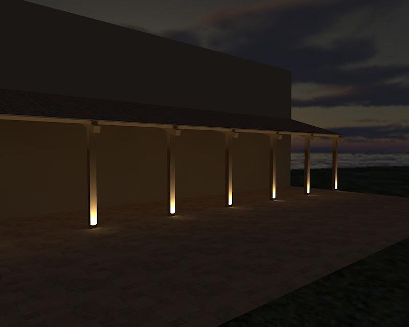 Forum illuminazione esterno portone d 39 ingresso - Illuminazione ingresso casa ...