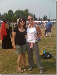 me and kerrie scottish highland games