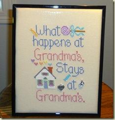 What Happens @ Grandmas