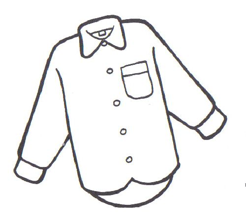 Dibujos de camisas y pantalones para colorear - Imagui