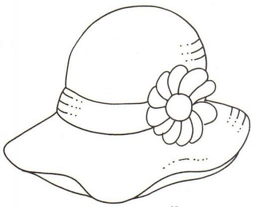 Sombrero De Charro Para Colorear