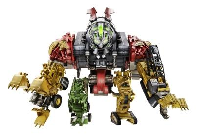 Transformers Movie 2 Combiner - Construction Devastator