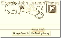 John Lennon Google Logo