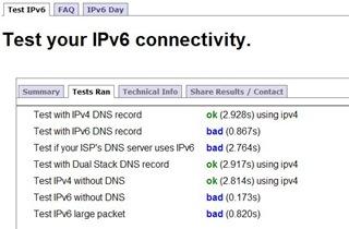 IPv6 Test Ready