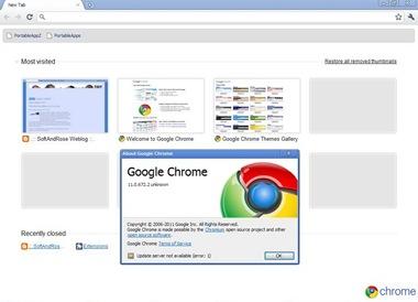 Google Chrome11 Portable